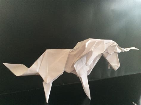 Origami Unicorn Easy - my productivity baking with unicorns