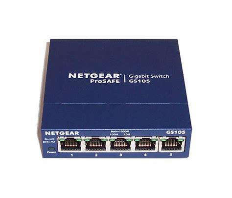 netgear prosafe 5 gigabit switch gs105 netgear gs105 v5 prosafe 5 gigabit switch no power