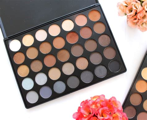 Morphe 35k m n h review and swatches morphe 35o 35k palette