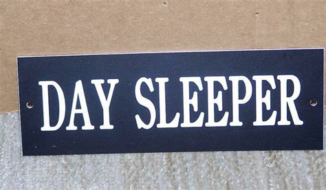 Day Sleeper Signs by Day Sleeper Keep Out No Soliciting Engraved Signs