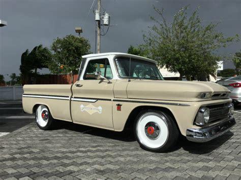 1966 chevy c10 custom chevrolet truck fleetside for