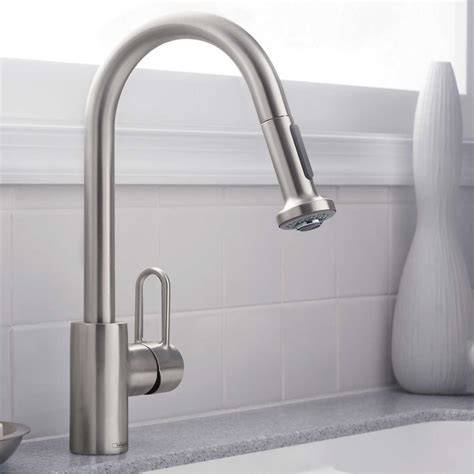 hansgrohe talis kitchen faucet kitchen astounding hansgrohe metro higharc kitchen faucet