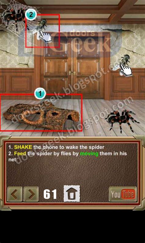 100 doors of revenge door 36 100 doors of revenge level 61 doors geek