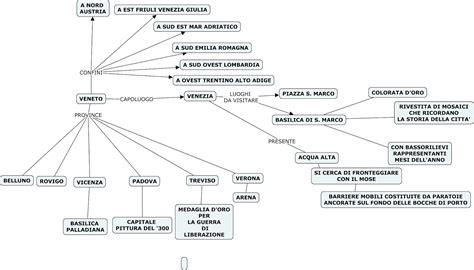geografia veneto geografia v mappe concettuali veneto