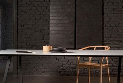Ultra thin Marble Tables   InteriorZine