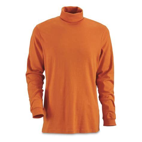 Turtle Neck guide gear s turtleneck sleeve shirt 180051