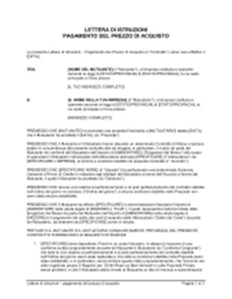 lettere di intenti lettera d intenti modello firmakoek