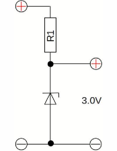 using a diode to drop voltage voltage divider homofaciens