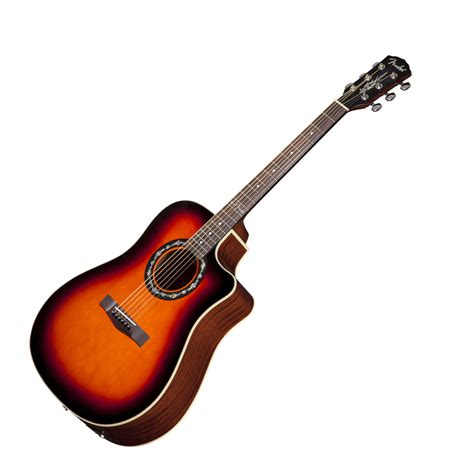 Fender T 100ce Spruce Top 3ts fender t 100ce acoustic electric guitar at zzounds