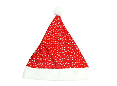deluxe plush christmas hats santa hat w00980 buy at