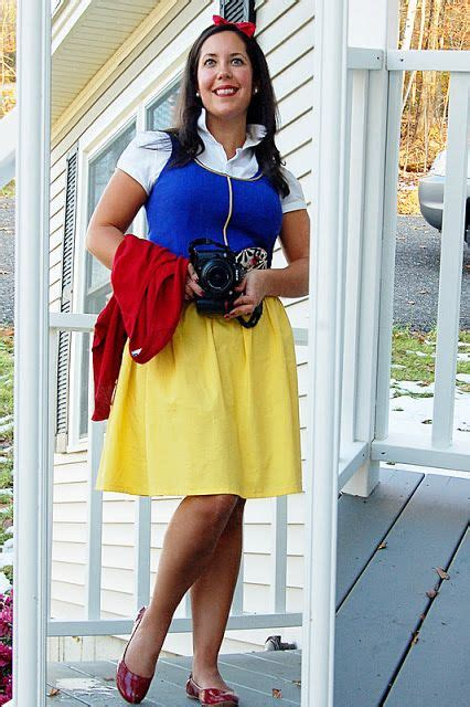 Handmade Snow White Costume - modern day snow white costume costumes