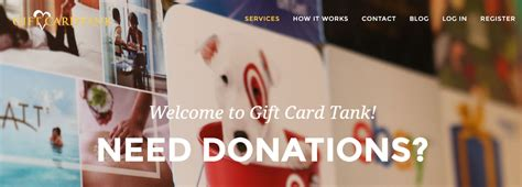 Gift Card Donation Request - gift card tank making gift cards donations hassle free startupguys net