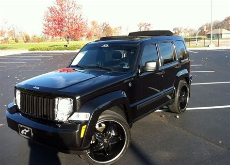 navy blue jeep liberty jeep liberty rims