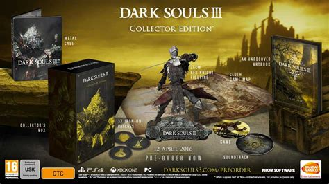 Souls 1 2 Limited Edtion Artbook souls 3 has a release date new shows around four minutes of gameply vg247