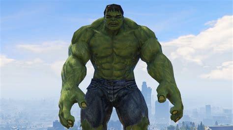 mod gta 5 pc hulk ultimate hulk mod in gta gta 5 mod funny moments youtube
