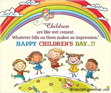 Children Of The Days children s day quotes international children s day quotes