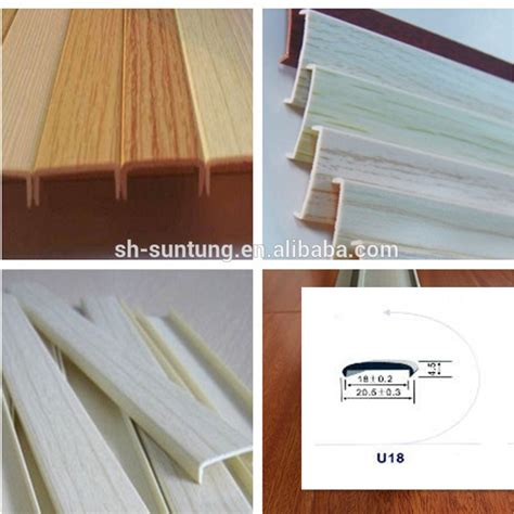 plastic edge trim for cabinets rubber pvc abs pmma edge banding edging trim manufacturer