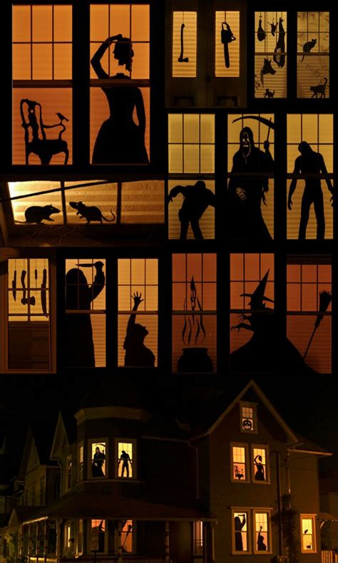 haunted house window haunt your house 18 ideas to create the spookiest place on the block