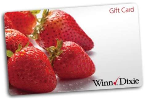 Winn Dixie Gift Cards - enter to win free groceries for a year 30 winners 50 gift cards 3 winners