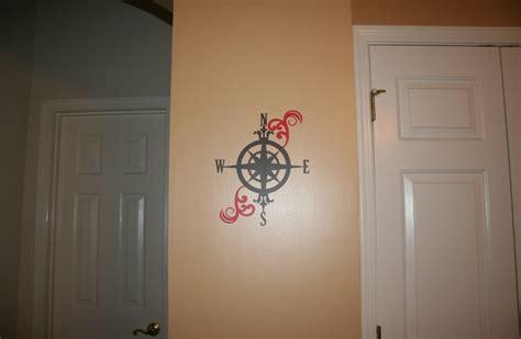 vinyl compass wall decor  cricut wall decor