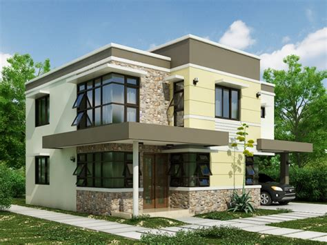 Home Designs Plans by Stunning Interior And Exterior Modern Home Design