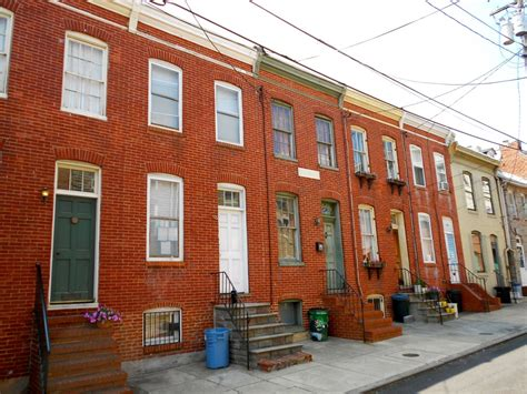 baltimore row houses for sale attacking decay take back neglected property the