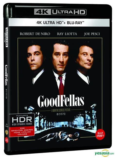 Goodfellas A Martin Scorsese Picture 4k Ultrahd Disc yesasia goodfellas 4k ultra hd 2 disc