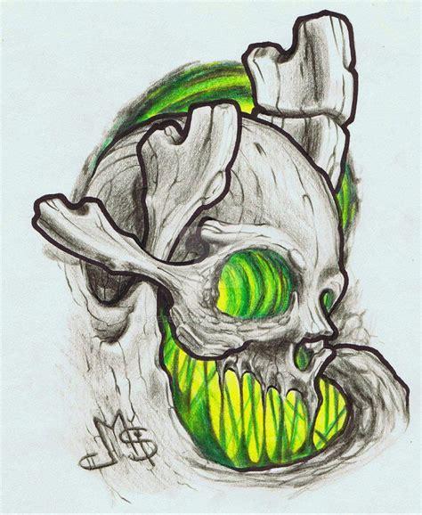 organic biomechanical skull  soederberg  atdeviantart