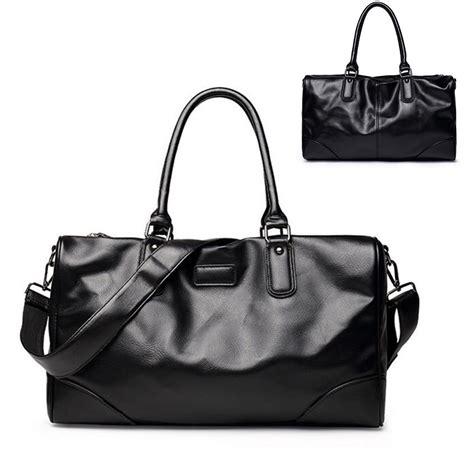 Travel Bag Hypervenon 8 leather vintage duffle luggage weekend travel bag sale banggood