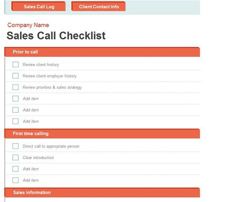 Sales Call Log Template Excel by Sales Call Log Sales Call Log Template