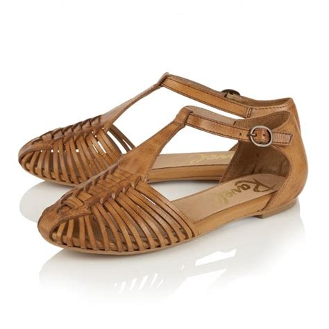 Sandal Wanita Ina Flat Shoes Beige buy ravel springdale flat sandals in leather