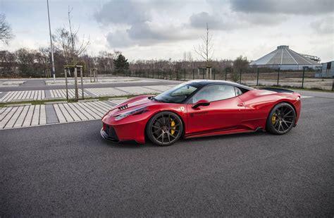 widebody ferrari red prior design ferrari 458 italia widebody gtspirit