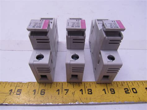 Fuse Holder Untuk Fuse 10x38 eti vlc10 fuse holder 10x38 max 3w 32a 690v 1p ebay