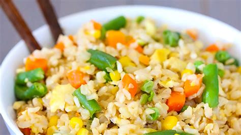vegetables and rice vegetable fried rice recipe from tablespoon