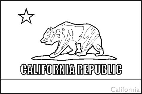 california flag coloring page printable coloring pages