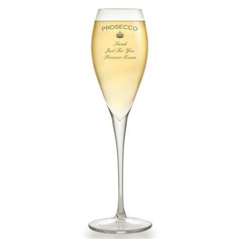 bicchieri prosecco personalised prosecco glass flute