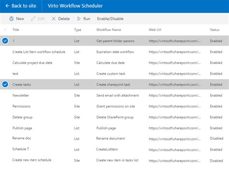sharepoint scheduled workflow sharepoint workflow scheduler virtosoftware