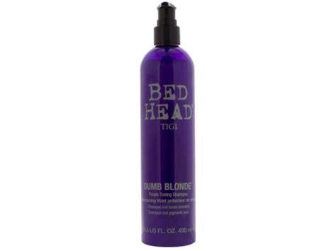 bed head dumb blonde review shop bed head dumb blonde purple toning shoo at lovelyskin com