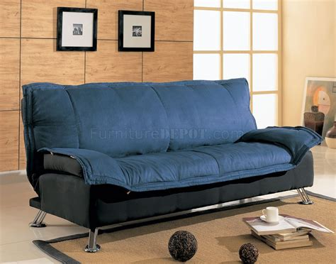 black and blue sofa black and blue modern sofa bed with extra cushioned layer