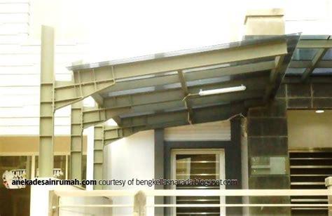 desain kanopi baja ringan teras rumah transparan minimalis (2)