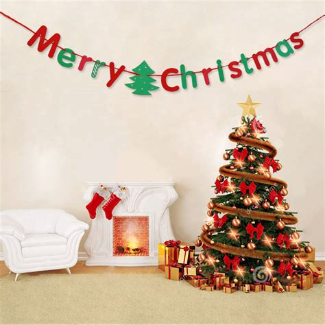 merry christmas class decoration alphabet letters merry decoration supplies for home outdoor market office classroom