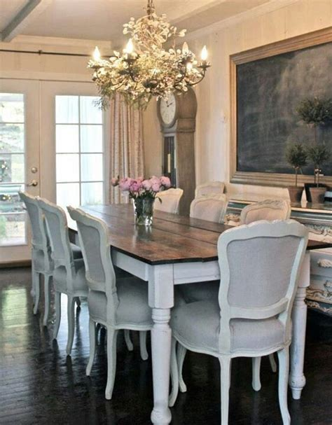 Dining Room Farm Table 25 Best Ideas About White Dining Room Table On Pinterest Refinishing Wood Tables Refurbished