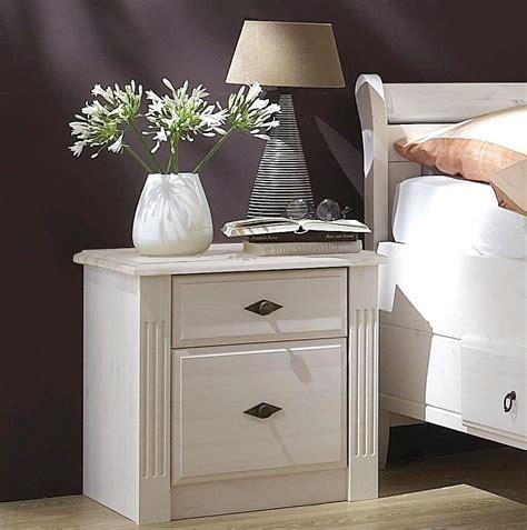 Nachttisch Weiß Holz by Massivholz Nachttisch Nachtschrank Nachtkommode Kiefer