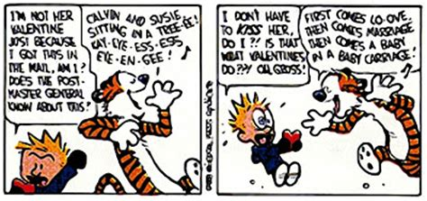 calvin and hobbes valentines day savvy and calvin and hobbes s day