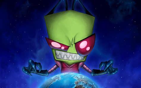 wallpaper cartoon alien invader zim desktop backgrounds wallpaper cave