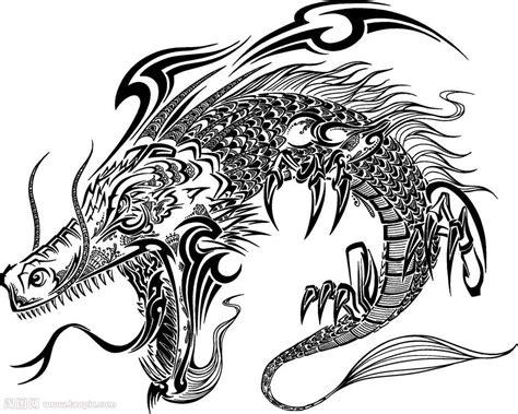 日本龙图腾矢量素材 编号20140915072141 其他艺术图片