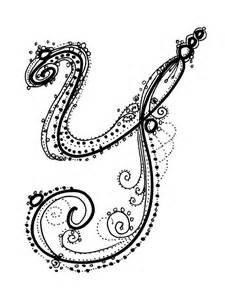 fancy alphabet
