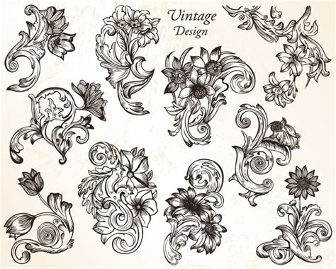 bevalet s hummingbirds and flowers a vintage grayscale coloring book vintage grayscale coloring books volume 3 books vintage flower ornaments vector set 1 vector photoshop