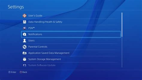 reset ps3 video settings black screen how to change the notification settings on the ps4