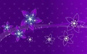 purple flowers wallpaper 290305
